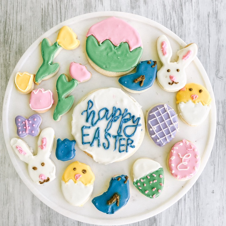 Easter Cookie Decorating