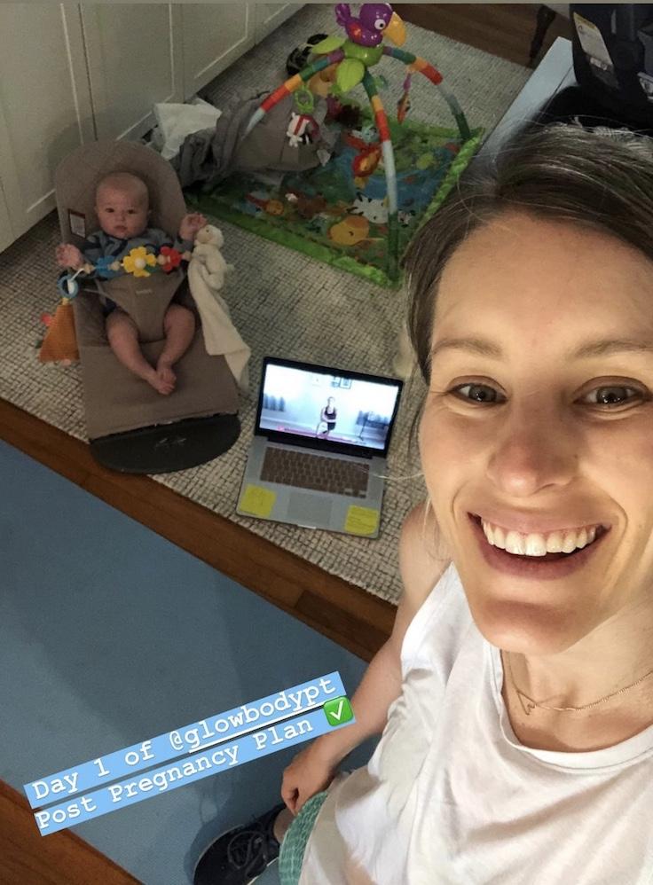 My Postpartum Fitness Journey